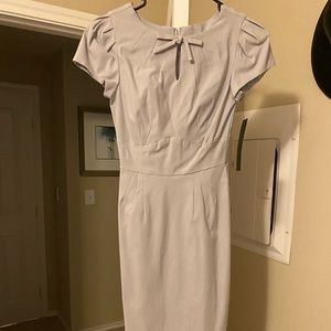 Stop Staring Dove Gray Dress BNWT